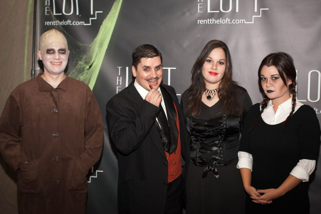 The Addams Family Group Costume Idea
