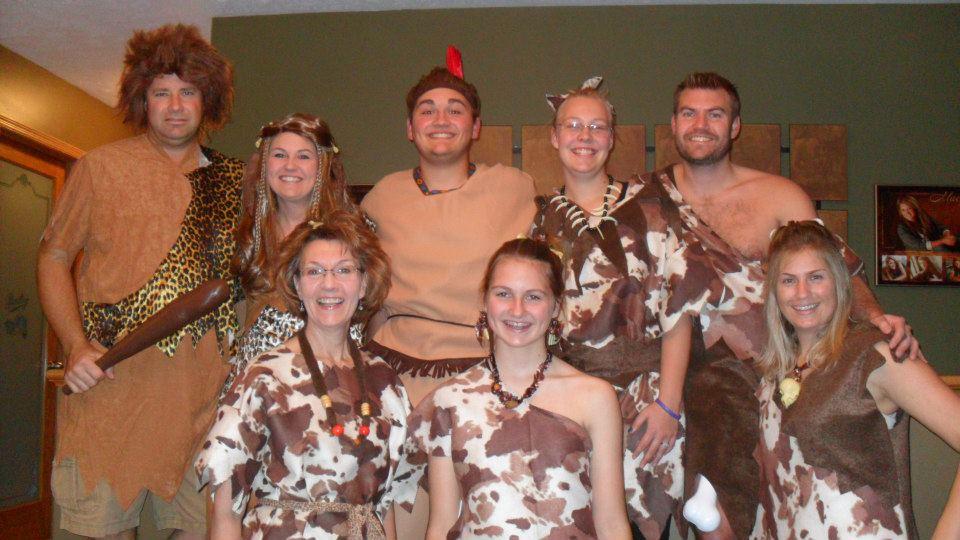 Cavemen Group Halloween Costumes