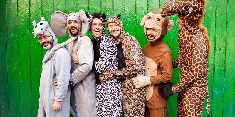 zoo animals group costume