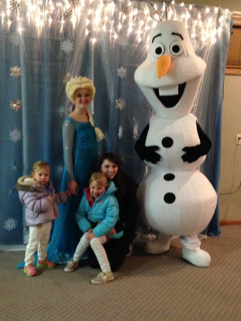 Elsa & Olaf Costumes