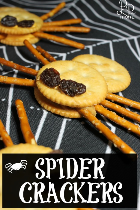 Spider Crackers Recipe for Halloween Party