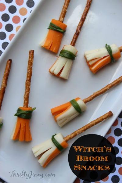 Witch's Broom Snacks Recipes
