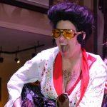 Kim as Elvis