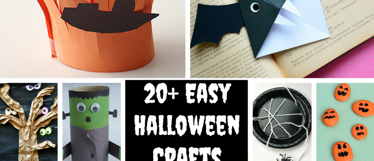 20+ Easy Halloween Crafts