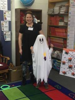 Homemade Ghost Costume