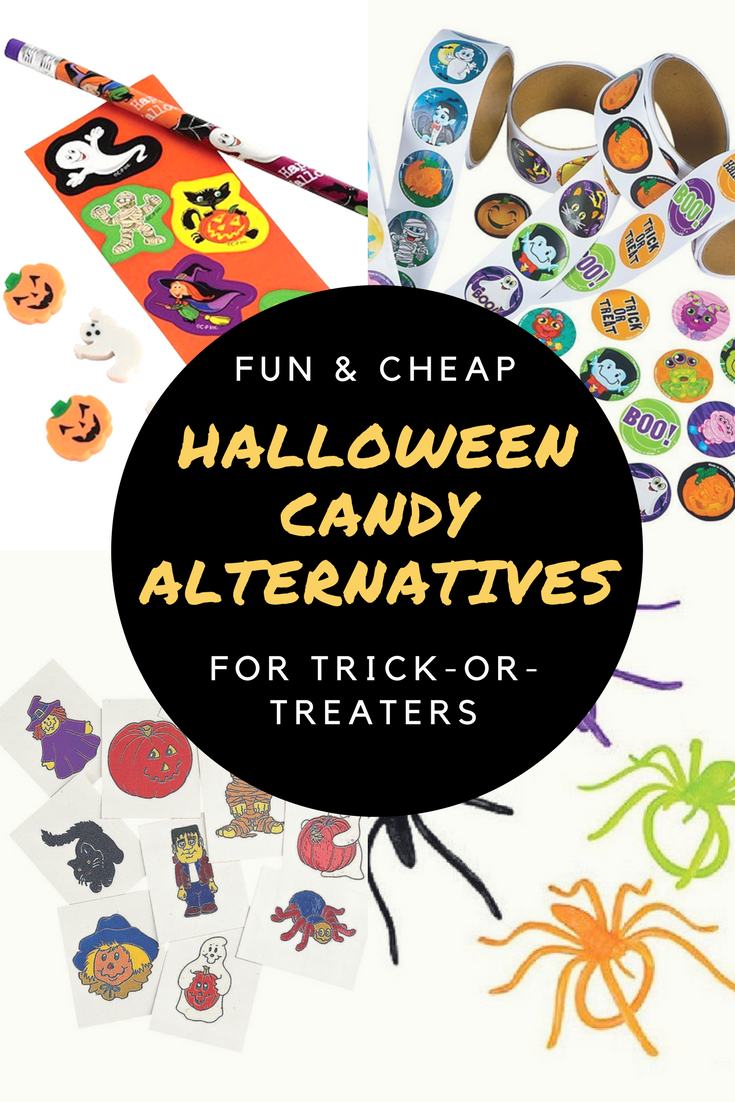Halloween Candy Alternatives For Trick-Or-Treaters