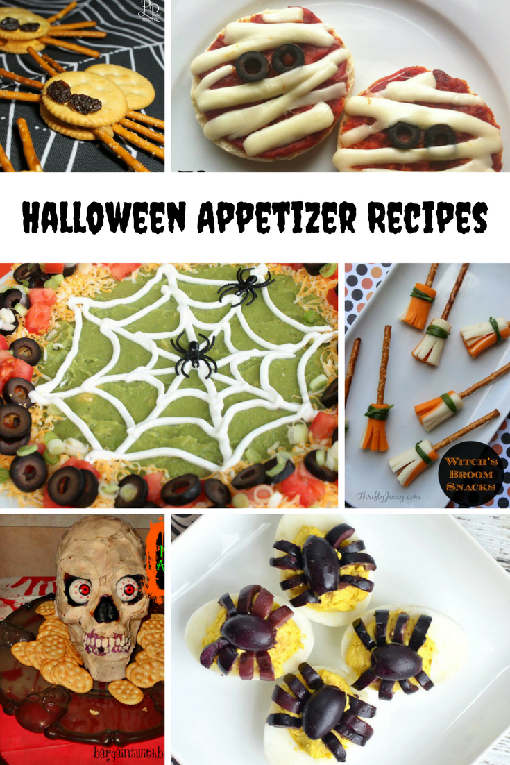 Halloween Party Appetizer Recipe Ideas - Canny Costumes