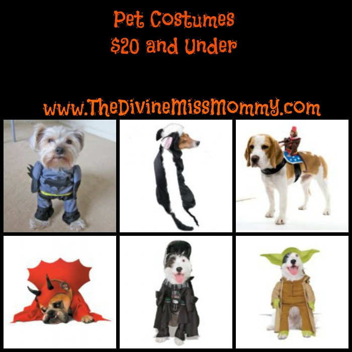 Adorable Pet Costumes for Less Than $20
