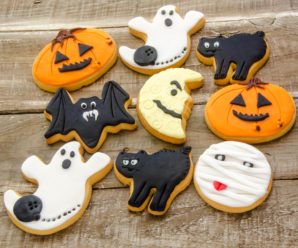 Halloween Frosted Sugar Cookies Recipe