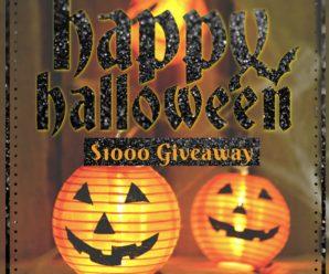 $1000 Halloween Giveaway
