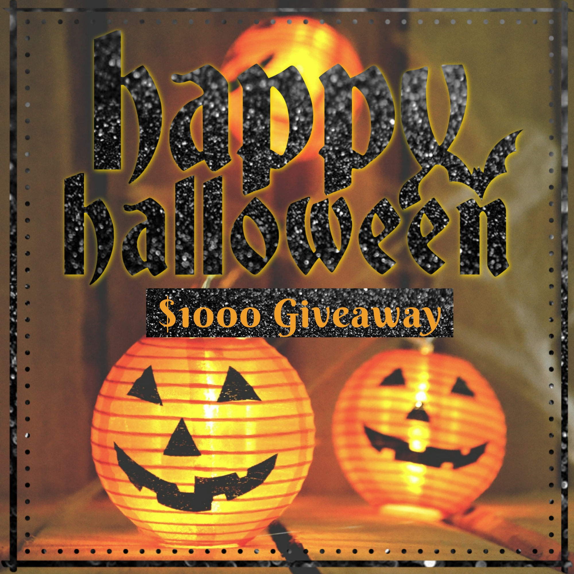 $1000 Halloween Giveaway!