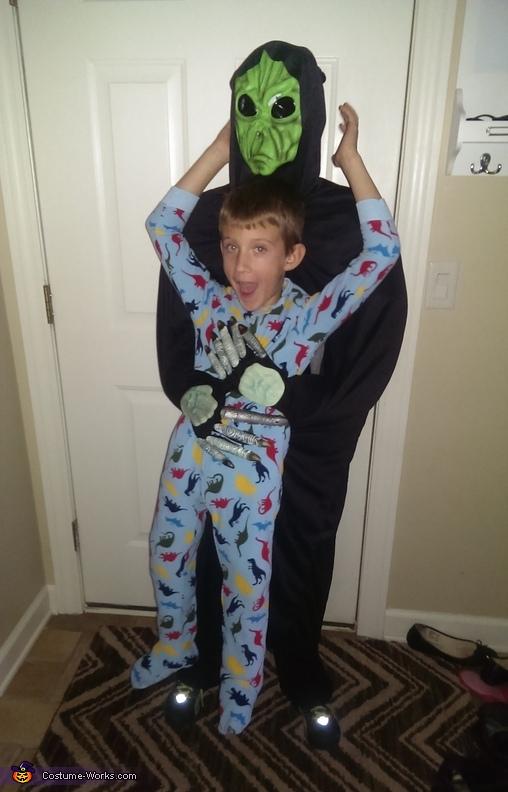Alien Abduction Illusion Costume