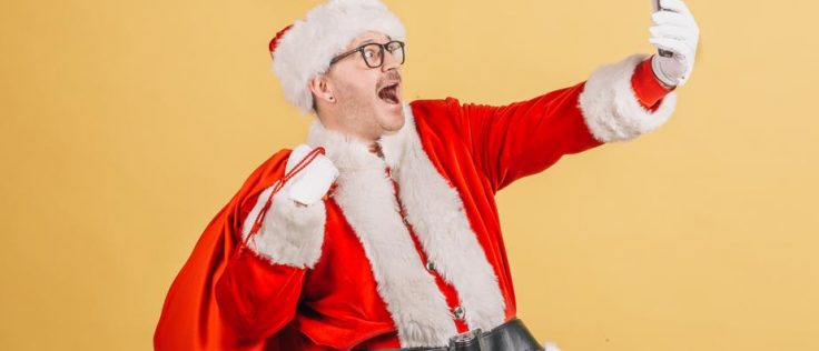 Santa home for Christmas