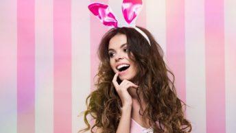 retro playboy bunny costume