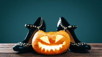 easy halloween shoes